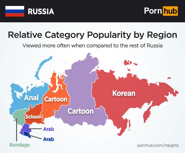 сколько в мире порно