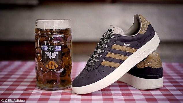 Adidas выпустил устойчивые к пиву кроссовки для