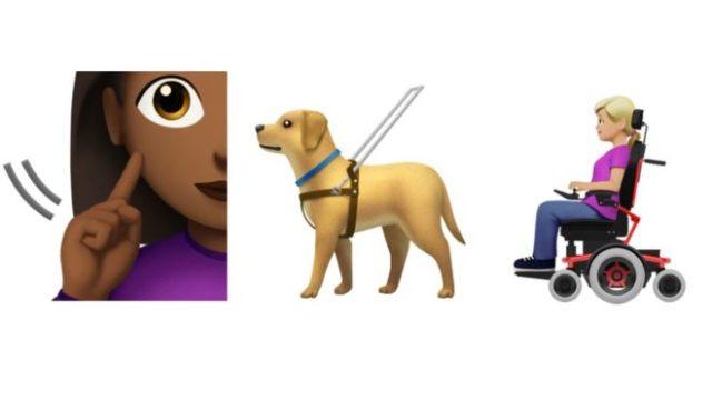 Собака-поводырь и слуховой аппарат: в iOS и Android появятся инклюзивные эмодзи