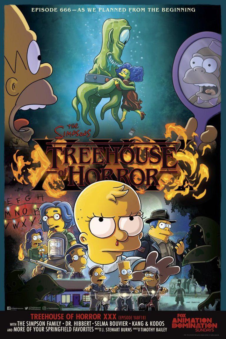 «Симпсоны» снимут эпизод по мотивам «Очень странных дел» и «Формы воды»
