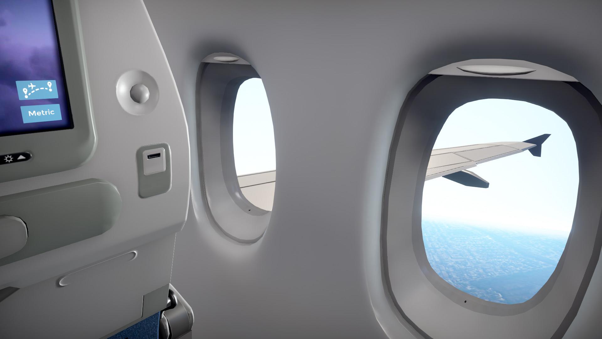 Игра дня: симулятор пассажира шестичасового авиарейса
