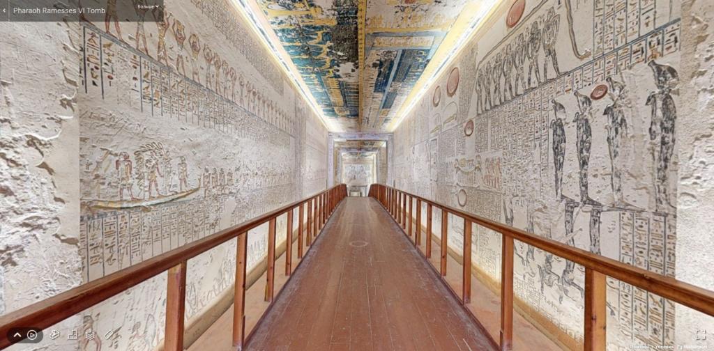 В Египте запустили бесплатные онлайн-путешествия по гробницам и другим достопримечательностям