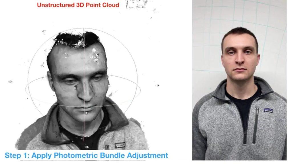 В США разработали систему, которая позволяет создавать 3D-модель лица на смартфоне