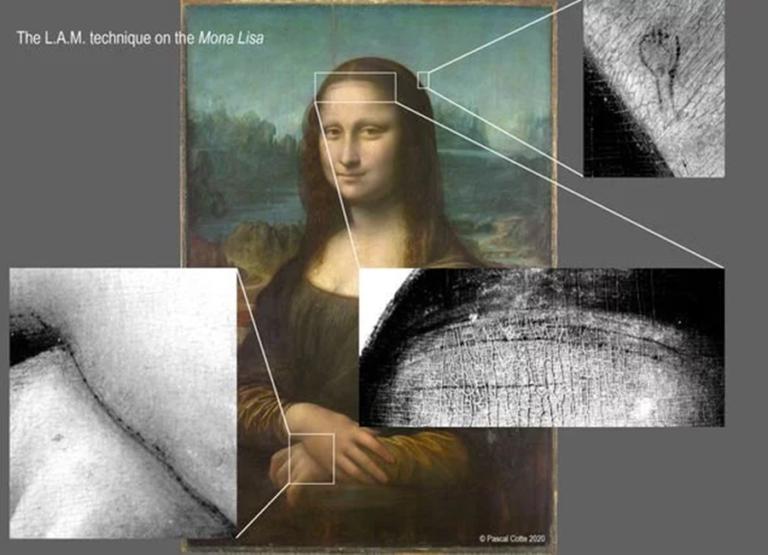 Ученый показал скрытый под «Джокондой» эскиз Леонардо да Винчи