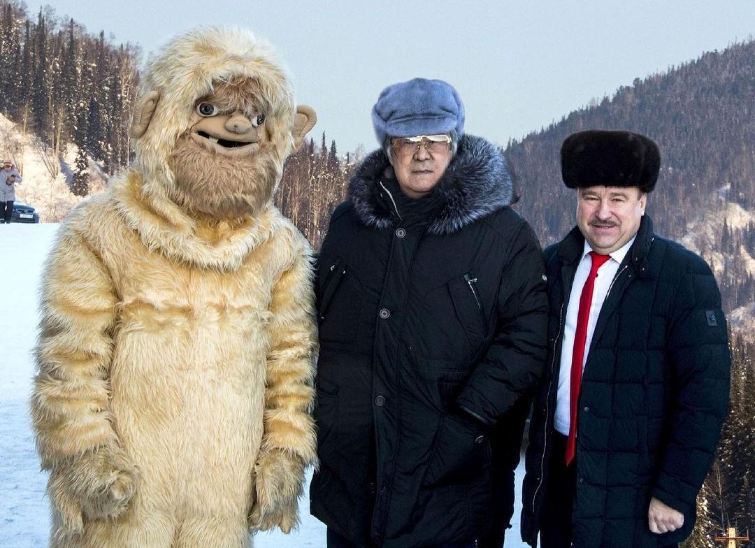 Экс-губернатор Кемеровской области просил переодевать местных жителей в йети для привлечения туристов
