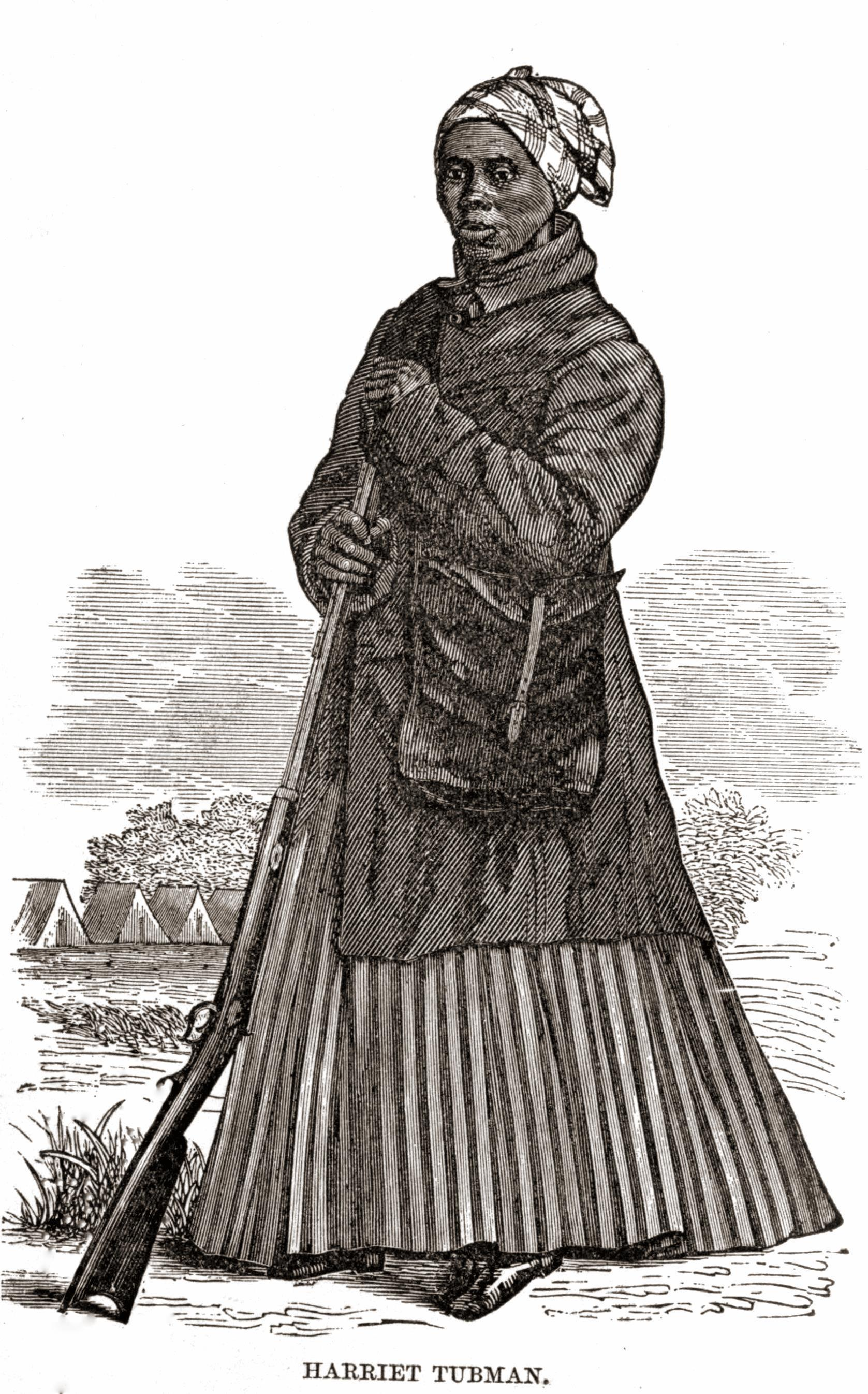 Harriet_Tubman_Civil_War_Woodcut