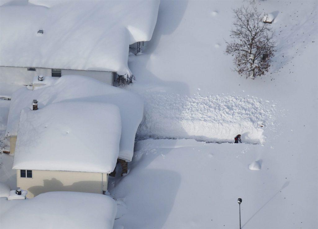 Открытки, картинка снег прикольная
