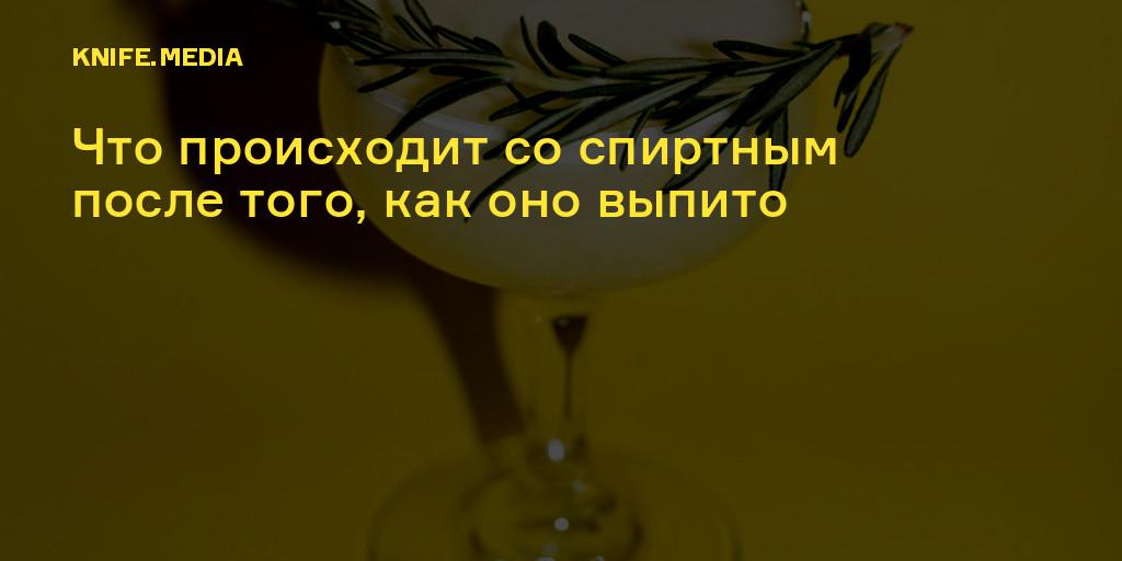 В каких органах разлагается алкоголь